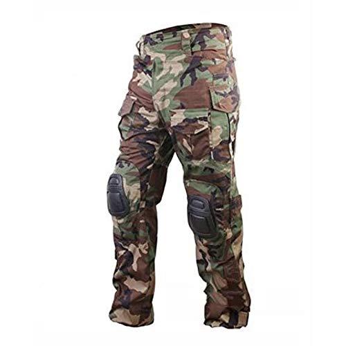 DLP Tactical Gen 3 Combat Pants (Woodland Camo, Large)