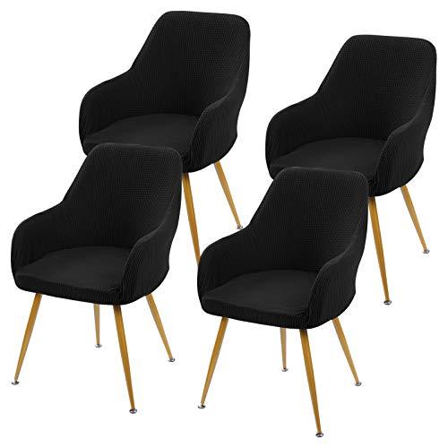 Cysincos Stuhlhussen Stretch Esszimmerstühle Bezug Universal Stuhl Abdeckung Elastische Moderne Husse Stuhl Beschützer Schutzhülle für Party Hotel Bankett Zuhause
