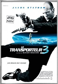 POSTER STOP ONLINE The Transporter 3 - Framed French Movie Poster/Print  Size 27  x 39