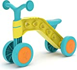 Chillafish Itsibitsi, Stable 4-Wheel First Ride-on for Kids 1-3 Years, with Steering Limiter to Prevent overturning, Lightweight and Easy to Carry, Yellow/Light Blue