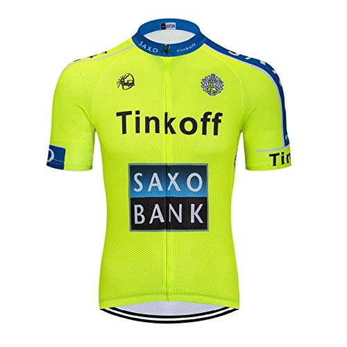 TOPBIKEB fietsshirt korte mouw, heren fietskleding ademend voor Pro Racing Team