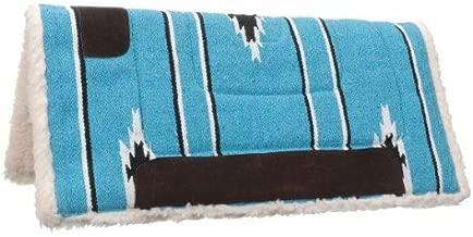 Tough 1 Square Saddle Pad/Fleece Bottom