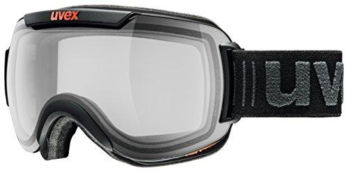 uvex Unisex– Erwachsene, downhill 2000 VP X Skibrille, black mat, one size