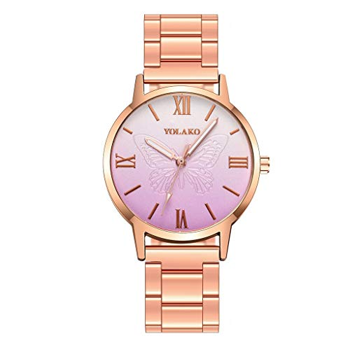 Letdown Watch Sleek Minimalist Gold Frosted Stainless Steel Mesh Belt Ladies Quartz Watches for Women Simple Under 5 Best Gifts for Lovers
