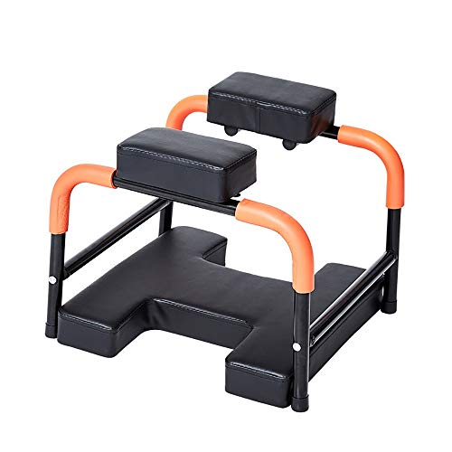 LUFKLAHN Yoga Inverted-Hilfe-Stuhl, rutschfest und stabil, Geeignet für: Home Yoga Inverted Bauch, Meditation, Meditationstraining Hocker