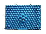 LIXBD Reflexology Foot Massage Pad Acupresión Mat Cuidado de pies placa de masaje (azul)