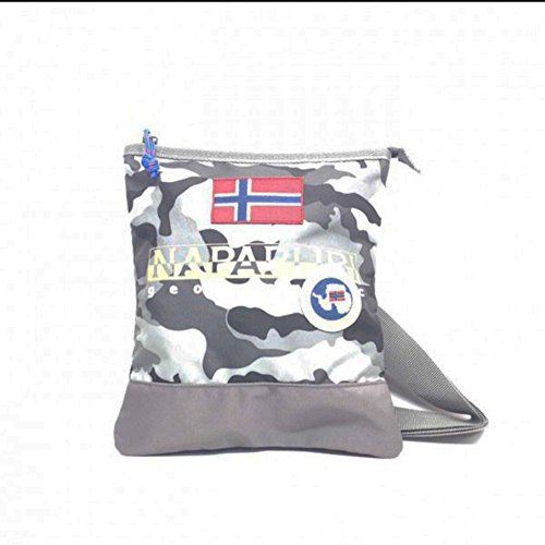 Borsa Borsello Uomo Donna Tracolla Napapijri Bag Men Woman North Cape Mini Crossover N3R17-Camouflage