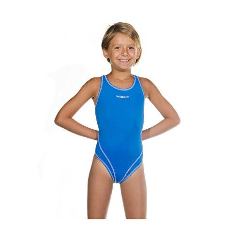 Head SWS Wire PBT Mädchen Badeanzug , Blau (Azul claro (LB), 116 (Herstellergröße: 6)