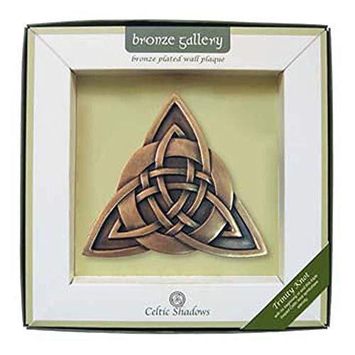 Trinity Knot Bronze Wall Plaque