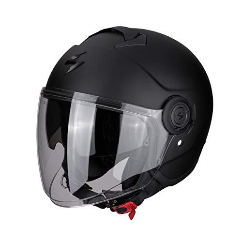 Scorpion Motorrad-Helm Exo-City, Mattschwarz, Größe XXXL
