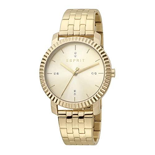Esprit Menlo Champagne MB UVP 139,90 - Reloj de pulsera para mujer