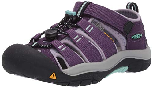 KEEN Newport H2 Closed Toe Water Shoe Sandal, Purple, 4 US Unisex Big Kid