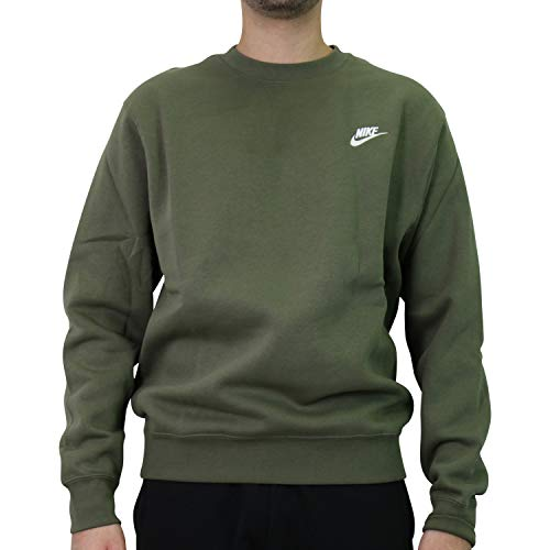 Nike Herren Sportswear Club Rundhalsshirt Grün M