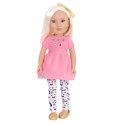 Glitter Girls by Battat - Elula 14 inch Non Posable Fashion Doll - Dolls for Girls Age 3 and Up