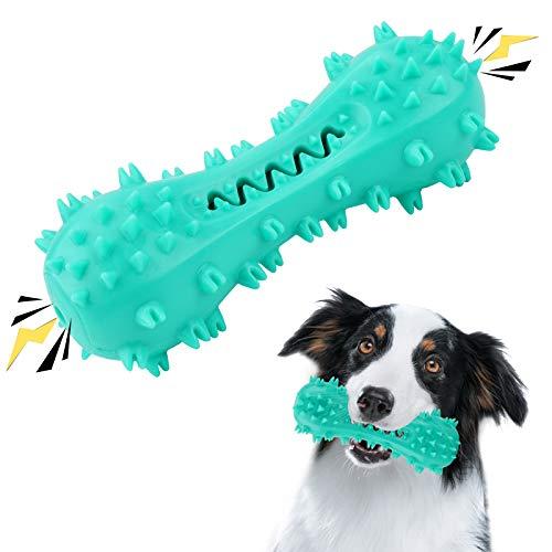 SNUNGPHIR Hundespielzeug Hundezahnbürste Hundezahnpflege Spielzeug Langlebiges Kauspielzeug für Zahnpflege Hundespielzeug Naturkautschuk Bissbeständig Zahnpflege Kauspielzeug für Hunde