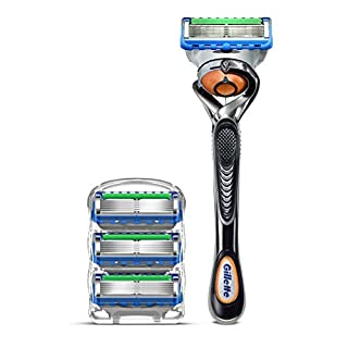 Gillette ProGlide Men's Razor Handle + 4 Blade Refills (B07DZYGDSF) | Amazon price tracker / tracking, Amazon price history charts, Amazon price watches, Amazon price drop alerts