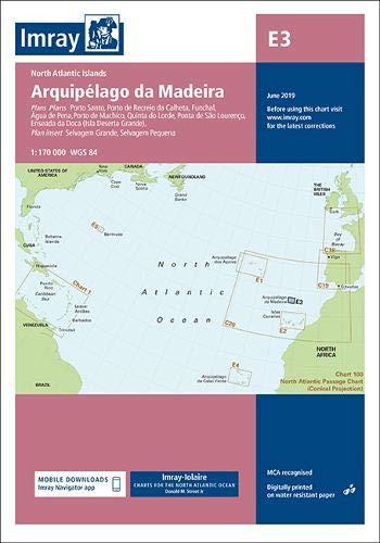 Imray Chart E3: Arquipelago da Madeira