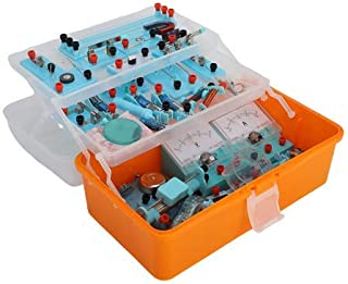 Physics Science Lab Basic Circuit Learning Starter Kit Electricity and Magnetism Experiment for Kids School Students