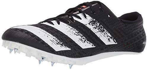 adidas UnisexAdult Adizero Finesse Running Shoe Black/White/Black 7