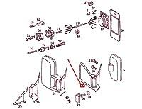 MB SPRINTER 906 Front Right Door Mirror Bracket LHD A0018115514 NEW GENUINE