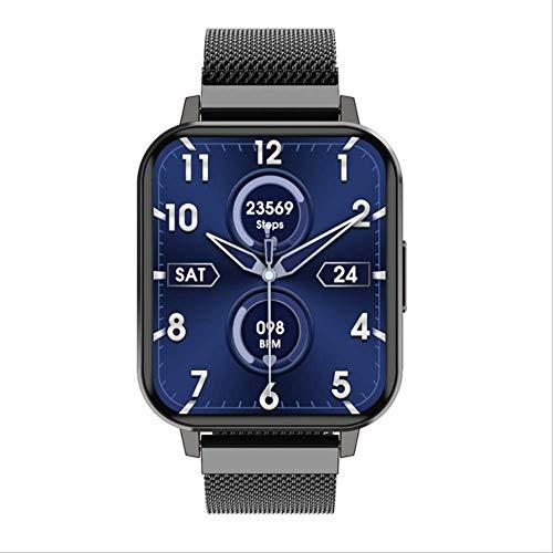 Sioneit Smart Watch Männer Frauen Ip68 Wasserdichtes Schwimmen 1,78 Zoll Hd Full Touch Display Mehrere Sport Smartwatch Pk Iwo 8 9 Schwarzer Stahl