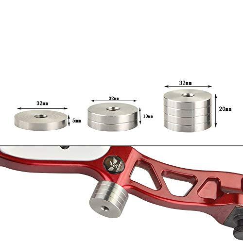 ZSHJG Bogenschießen Bogenstabilisator Gewicht Kit Balance Bar Bogen Gewicht des Stabilisators für Recurve Bogen (Typ 3)