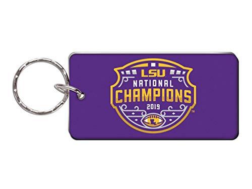 WinCraft LSU Tigers 2019-2020 CFP National Champions Acrylic Keychain