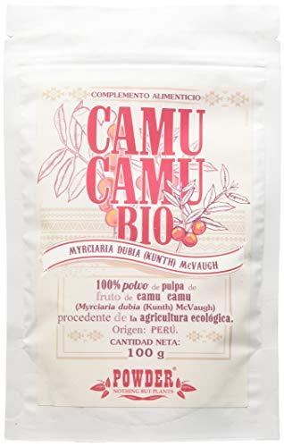 CAMU CAMU BIO * 100 razioni/Camu camu in polvere 100 g * Stimola le difese naturali * Fabbricato in Francia