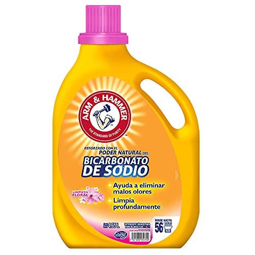 Arm & Hammer Detergente Líquido Floral, 4.65 L