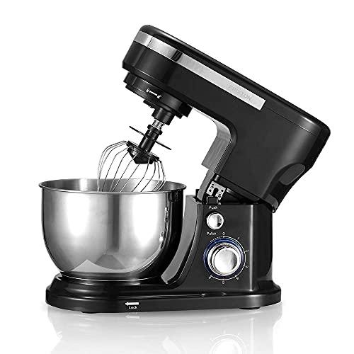 PRIXTON KR200 - Robot Cocina/Batidora Amasadora de Reposteria con Potente Motor de...