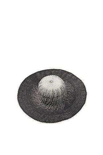 ESPRIT Accessoires Damen 048EA1P004 Sonnenhut, Schwarz (Black 001), Medium
