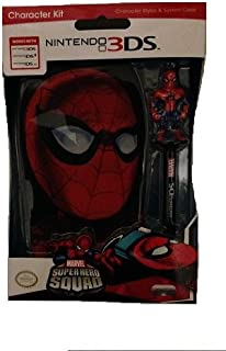 Nintendo DS Marvel Super Hero Squad Member Spider Man Kit with Spider Man Stylus and Spider Man Themed Case