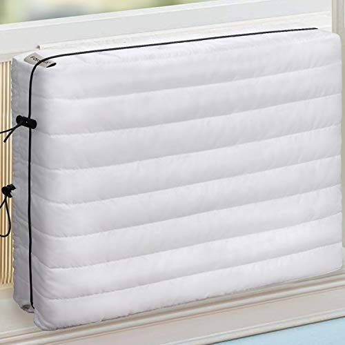 FORSPARK Indoor Air Conditioner Cover, AC Covers for Inside with Free Drawstring, 21 x 15 x 3.5 inches (L x H x D) -...