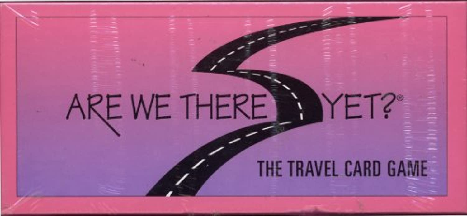 Are We There Yet Travel Card Game
