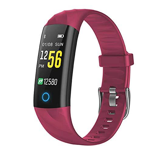 joyliveCY SlenFiit Fitness Armband Kinder, Fitness Tracker Uhr mit Pulsmesser Blutdruck Blutsauerstoff Schlafmodus, Schrittzähler Stoppuhr Schwimmen Kalorien SMS SNS Anruf für Junge Mädchen Geschenk