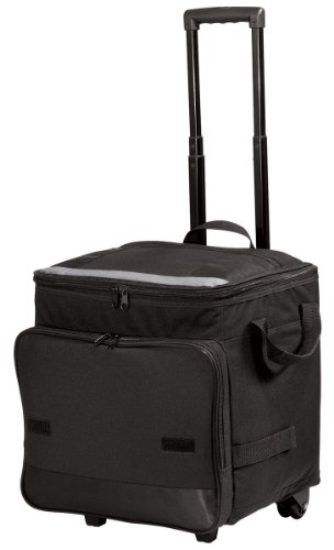 Port Authority - Rolling Cooler. - Black - OSFA