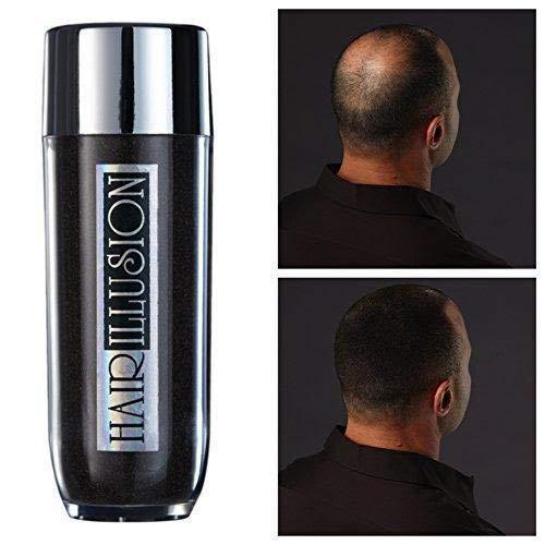HAIR ILLUSION -100% Natural Real Human Hair FibersNot Synthetic For Men & Women, Premium Large...