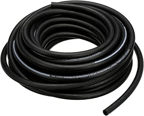Gates 28407 Safety Stripe Standard Straight Heater Hose-50' Length, Inner Diameter 1/4'