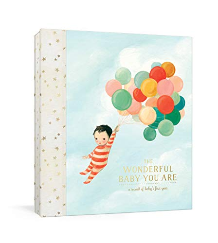 The Wonderful Baby You Are: A Record of Baby's First Year: Baby Memory Book with Milestone Stickers and Pockets (Baby Record Books)