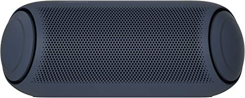 LG XBOOM Go PL7, tragbarer Bluetooth-Lautsprecher (IPX5-Spritzwasserschutz, 24+ h Akkulaufzeit, Beleuchtung), schwarz [Modelljahr 2020]