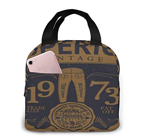 Bolsa de almuerzo con aislamiento Bolsa fresca para loncheras Tela impermeable Bolso de picnic plegable para mujeres Hombres adultos Niños Mamíferos Caricatura Natación Ocean-18