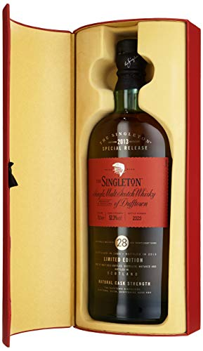 Singleton of Dufftown 28 Years Old Limited Edition 2013 mit Geschenkverpackung  Whisky (1 x 0.7 l)