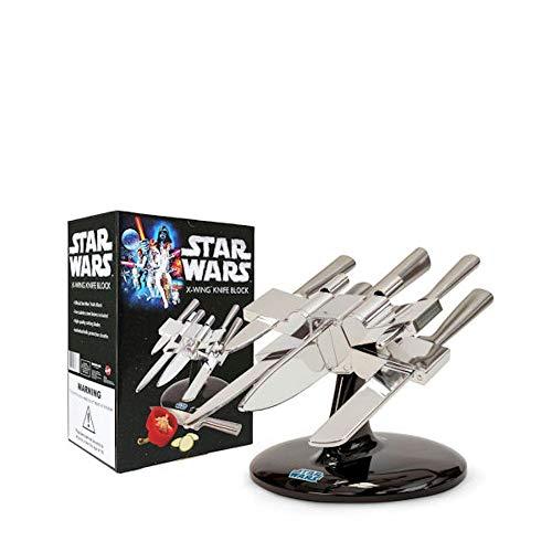 Star Wars - X-Wing - Messerblock inkl. 5 Messer | Original Starwars