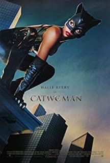 Catwoman Double-Sided International 27X40 Halle Berry Poster