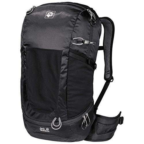 Jack Wolfskin Kingston 30 Pack Daypack Rucksack, Black, ONE Size