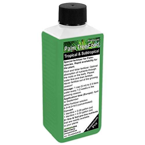 Fertilizante líquido de alta tecnología NPK para palmeras, fertilizante para suelo y raíces, alimento profesional para plantas