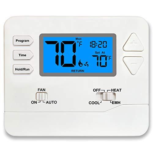 Heat Pump Thermostat Programmable