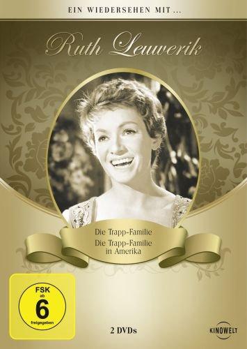 Ein Wiedersehen mit ... Ruth Leuwerik (Die Trapp Familie / Die Trapp Familie in Amerika) [2 DVDs]