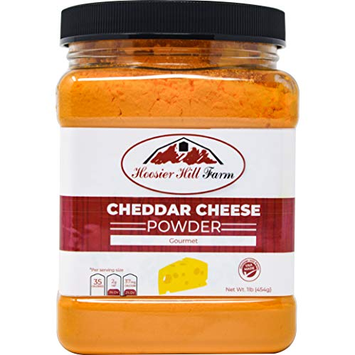 Hoosier Hill Farm Cheddar Cheese Powder (1lb) $7.82