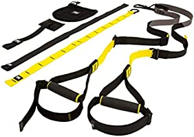 TRX SUSPENSION TRAINER Highest Quality Design & Durability Lightweight & Portable Full Body Workouts, All Levels & All...
